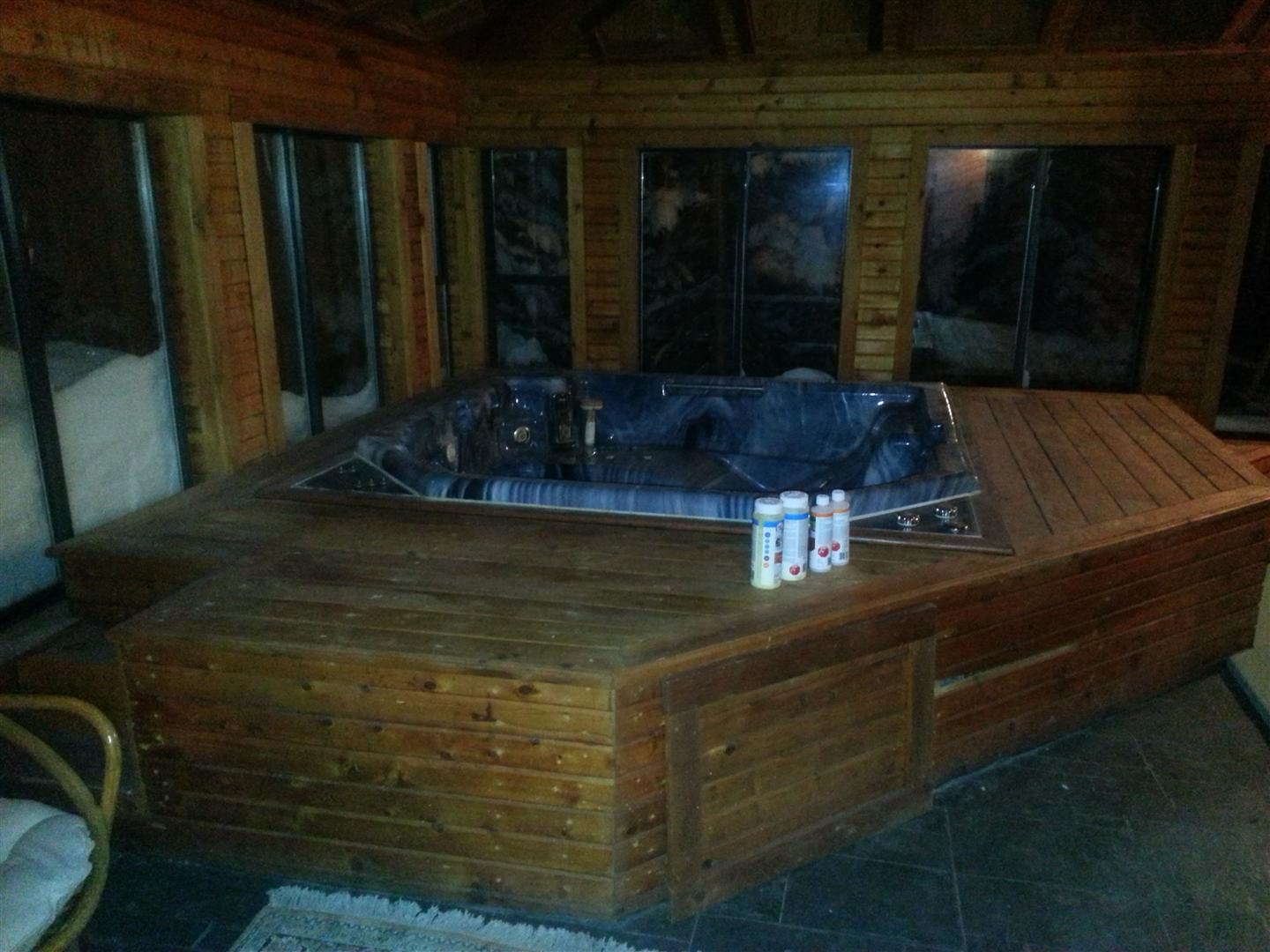 Jacuzzi hot tub renovations completed